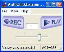 Click to view AutoClickExtreme 4.67 screenshot